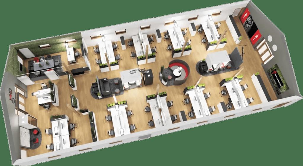 Planung für ein Stilles Büro