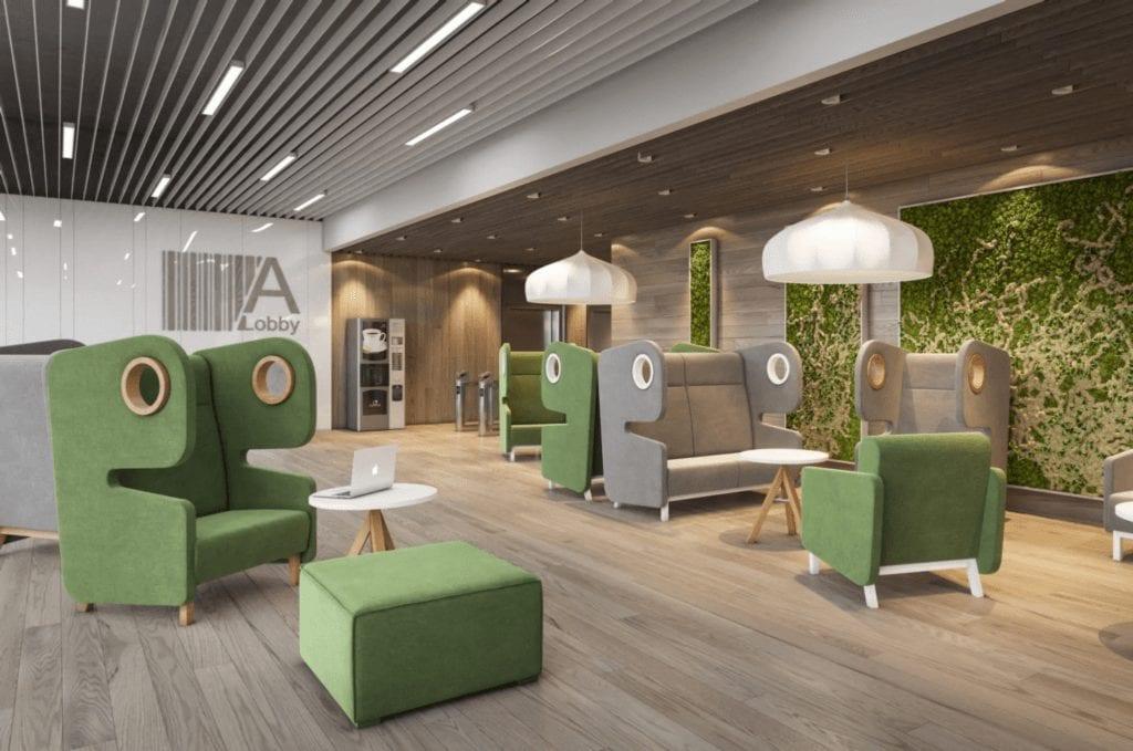 Sessel und Sofas für die Lobby