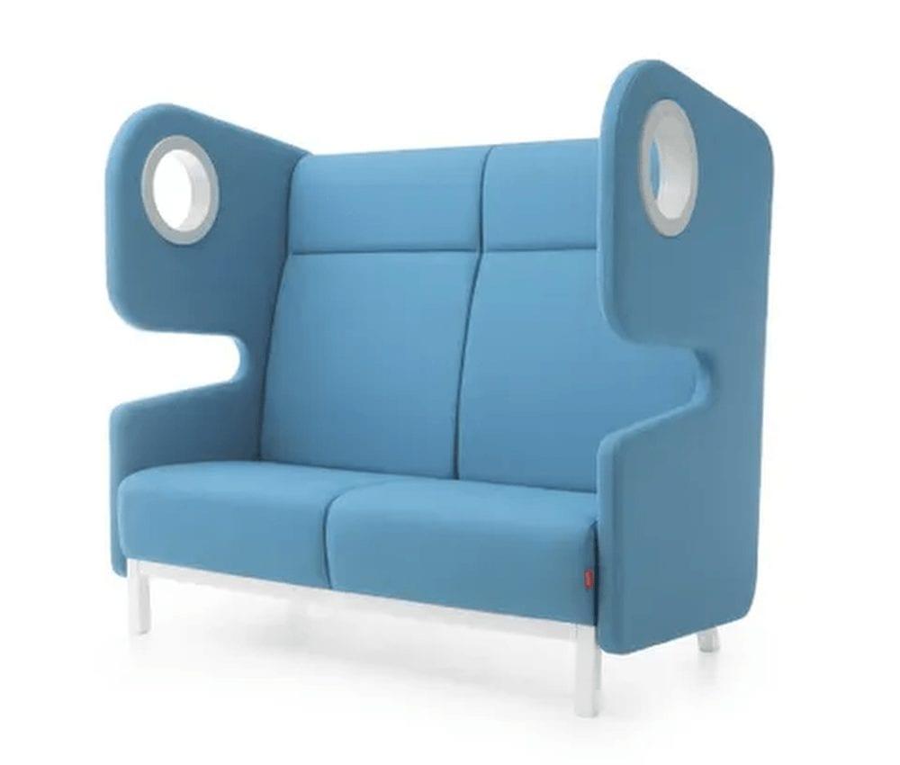 Büro Couch in Blau